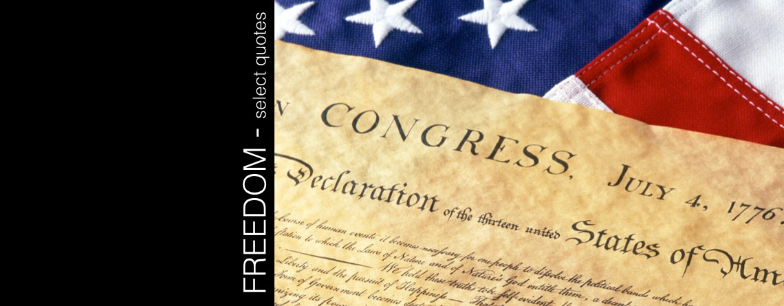 Freedom – select quotes