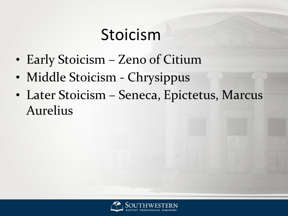 hellenistic stoicism Skepticism is a hellenistic school of philosophy which holds that one should refrain from making stoicism is a school of philosophy which teaches the development of self-control and fortitude as a.