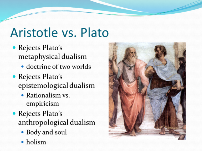 metaphysics plato vs aristotle Essays - largest database of quality sample essays and research papers on metaphysics plato vs aristotle.