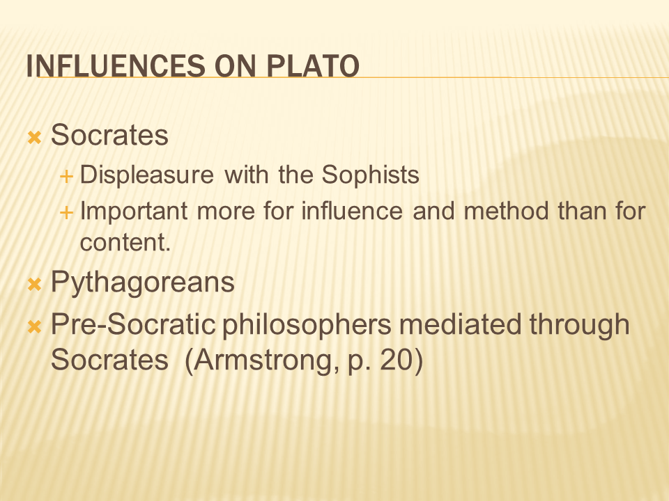 oppositional world views plato the sophists This same view was earlier promoted by the chinese philosopher teng shih (6th century bce) but protagoras was the first to teach this view in greece through his position as a sophist a sophist was a teacher of rhetoric, politics, and logic who served as a private tutor to the youth of the upper classes.